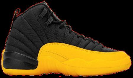 Air Jordan 12 Retro Black University Gold