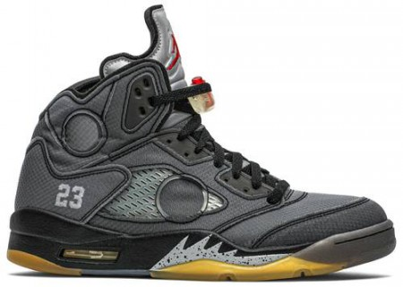 Air Jordan 5 Retro Off White Black