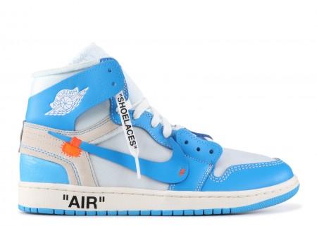 Air Jordan 1 Retro High Off-White University Blue