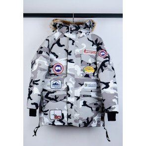 Canada Goose Jacket In Camouflage