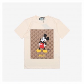 Gucci &Disney Mickey Big Printing Short Sleeve