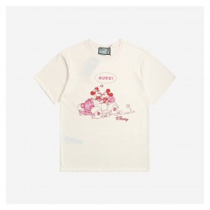 Gucci &Disney Mickey Minnie Drive Car T-Shirt