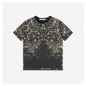 Givenchy 17ss Constellation Printed Short Sleeve