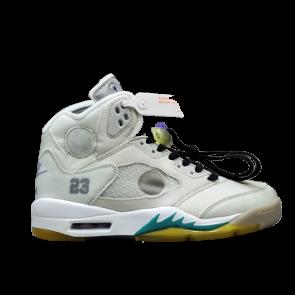 Air Jordan 5 Retro Off White Grape