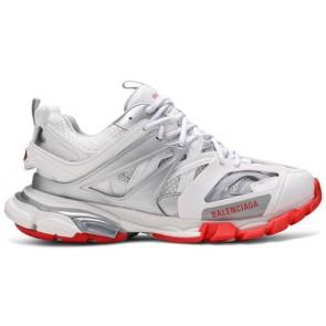 Balenciaga Track Sneaker White Red