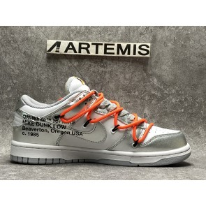 Nike Dunk Low Off-White Silver