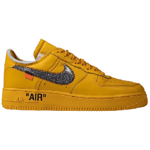 Air Force 1 x Off-White Low University Gold