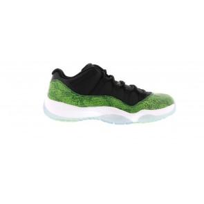 Air Jordan 11 Retro Low Green Snakeskin