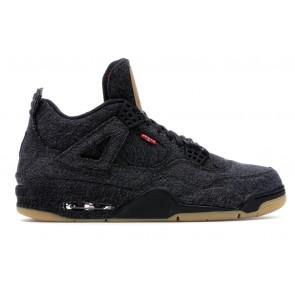 Air Jordan 4 Retro Levi's Black (Levi's Tag)