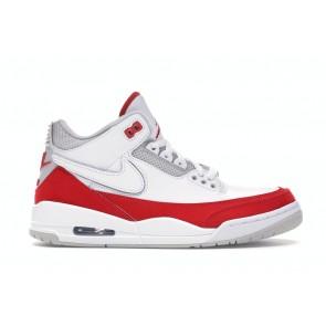 Air Jordan 3 Retro Tinker White University Red