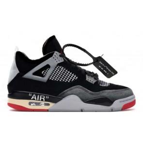 Air Jordan 4 X Off White Bred
