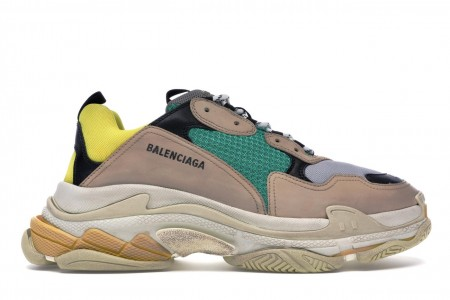 Balenciaga Triple S Beige Green Yellow (2018 Reissue)