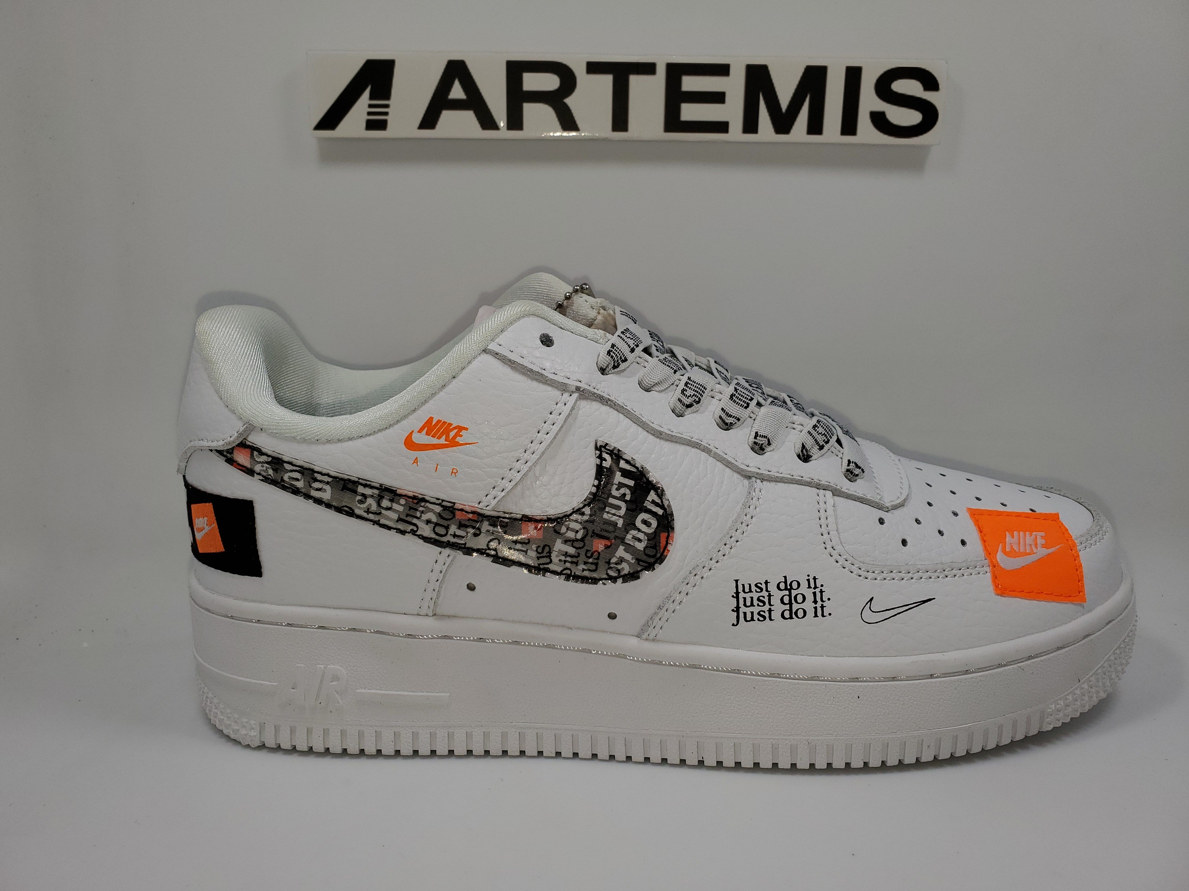 promo code 1846b d1734 Air Force 1 Low Just Do It Pack White/Black
