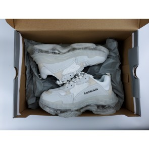 Balenciaga Triple S Clear Sole White