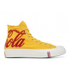 Converse Chuck Taylor All-Star 70s Hi Kith x Coca Cola Yellow