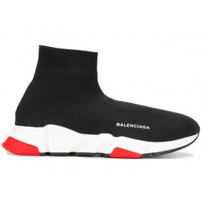 Balenciaga Speed Trainer Black Red