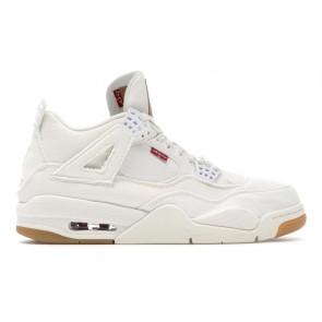 Jordan 4 Retro Levi's White (Levi's Tag)
