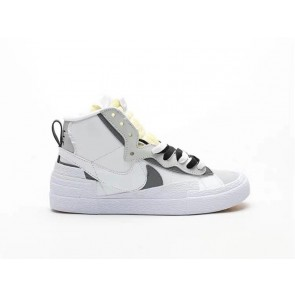 Nike Blazer High Sacai White Grey